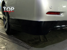 8389 Юбка на задний бампер Modellista на Toyota Camry V50 (7)