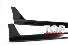 8390 Накладки на пороги Modellista на Toyota Camry V50 (7)