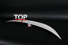 ЛИП-СПОЙЛЕР НА КРЫШКУ БАГАЖНИКА - МОДЕЛЬ ШНИТЗЕР - ТЮНИНГ БМВ 5 СЕРИИ (E82, ПЕРВЫЙ РЕСТАЙЛИНГ, 2006 / 2011)