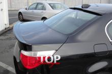 8393 Козырек на заднее стекло M5 Style на BMW 5 E60, E61, M5
