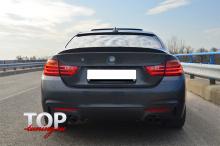 8402 Спойлер на крышку багажника Schnitzer на BMW 3 F30