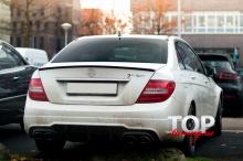 8408 Лип-спойлер AMG на Mercedes C-Class W204