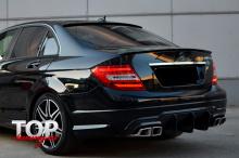 8415 Спойлер на крышку багажника AMG V.2 на Mercedes C-Class W204