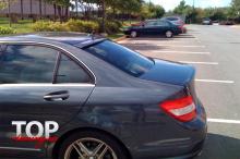 8417 Козырек на заднее стекло AMG на Mercedes C-Class W204
