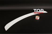 СПОЙЛЕР НА КРЫШКУ БАГАЖНИКА - МОДЕЛЬ СПОРТ - ТЮНИНГ КИА ЦЕРАТО (2 ПОКОЛЕНИЕ, ДОРЕСТАЙЛИНГ, РЕСТАЙЛИНГ, 2009 / 2013)