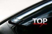 8440 Ветровики на окна CHROME LINE на Mazda 3 BL