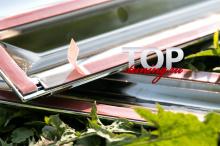 8456 Хромированные молдинги дверей Premium Line на Toyota Camry V50 (7)