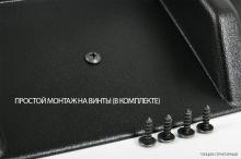 НАКЛАДКА НА ЗАДНИЙ БАМПЕР - МОДЕЛЬ АПЕКС - ТЮНИНГ ШКОДА ОКТАВИЯ (3 ПОКОЛЕНИЕ, КУЗОВ A7, ДОРЕСТАЙЛИНГ 2013 / 2017)