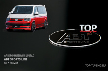 8474 Эмблема ABT Sports Line 80*38