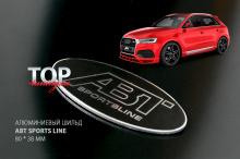 Фирменный овальный шильд АБТ Спортс Лайн - Тюнинг AUDI, Volkswagen, Seat, Skoda