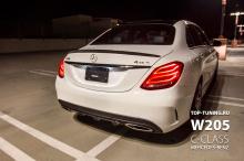 8504 Спойлер крышки багажника Epic R1 на Mercedes C-Class W205