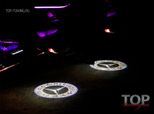 8538 Проектор логотипа в дверь Laser HD на Mercedes