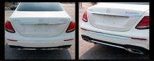 8539 Молдинги заднего бампера Chrome Line на Mercedes E-Class W213