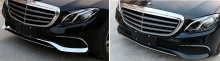 8541 Молдинги переднего бампера CHROME LINE на Mercedes E-Class W213