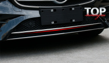 8544 Молдинг переднего бампера AMG line на Mercedes E-Class W213