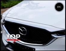 8546 Верхний молдинг бампера Epic на Mazda CX-5 2 поколение