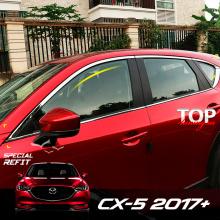 8551 Хром пакет на окна Epic на Mazda CX-5 2 поколение