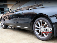 8553 Эластичные брызговики 4 шт на Mercedes E-Class W213