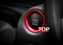 8554 Окантовка кнопки СТАРТ Epic на Mazda CX-5 2 поколение