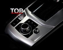 8589 Облицовка КПП Sport на Mazda CX-5 2 поколение