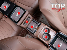 Инструкция по установке - 8599 Защитные вставки-коврики в салон AMG style на Mercedes E-Class W213