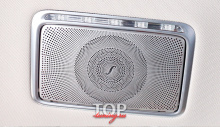 8602 Облицовки крышек зеркал в салон Burmester на Mercedes E-Class W213