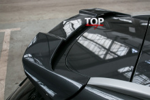 8630 Спойлер на крышку багажника X-Force на Kia Ceed 2