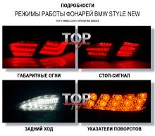 Режимы работы - 8633 Задние светодиодные фонари Epistar BMW F10 STYLE NEW