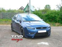 8645 Юбка на передний бампер Sport на Ford Focus 2