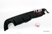 8650 Диффузор на задний бампер A`PEX Revolt на Honda Accord 8