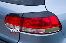 8654 Реснички на задние фонари GT на VW Golf 6