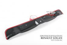 8657 Защитная накладка на внутренний порог багажника Bastion на Renault Logan