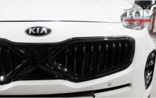 8673 Решетка радиатора X на KIA Sportage 4