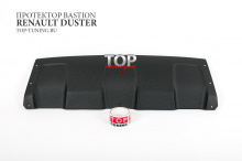 8684 Накладка на передний бампер Bastion на Renault Duster 1