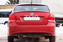 8689 Козырек на заднее стекло Apex на VW Polo 5