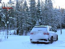 Набор не занижает клиренс БМВ Х5 е70 и позволяет эффективно эксплуатировать кроссовер в суровых российских условиях на любой дороге, в любую погоду.