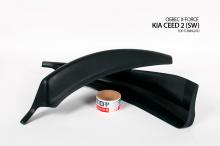 8693 Обвес X-Force (SW, ДОРЕСТАЙЛИНГ) на Kia Ceed 2