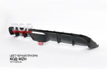 8697 Диффузор на задний бампер с стоп-сигналом (РЕСТАЙЛИНГ) Evolution на Kia Rio 3