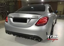 8705 Тюнинг спойлер AMG C63 Style на Mercedes C-Class W205