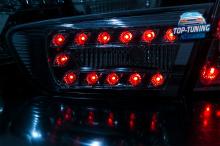 8714 Задние тюнинг фонари LUX на Mitsubishi Lancer 10 (X)