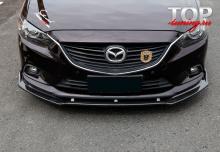8727 Спойлер переднего бампера Vortex GT на Mazda 6 GJ