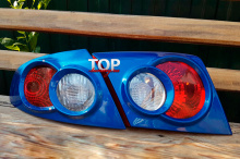 8730 Реснички на задние фонари GT на Chevrolet Lacetti