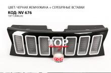 8731 Решетка радиатора Jeep Cherokee Style на Renault Duster 1