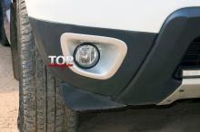 8739 Вставки в ПТФ на Renault Duster 1