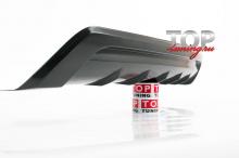 8754 Диффузор заднего бампера - Обвес Exclusive на Hyundai Solaris