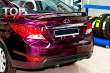 8758 Спойлер GT на Hyundai Solaris