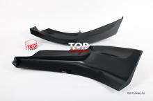 8770 Накладки на передний бампер Sport Touring (Седан) на Mazda 3 BK