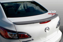 8775 Лип-спойлер на Mazda 3 BL