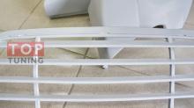Набор из 3-х радиаторных решеток для переднего бампера из набора тюнинг обвеса Магнум 2 для Порш Кайен 957.