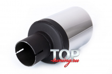Насадка на глушитель автомобиля - диаметр 100 миллиметров